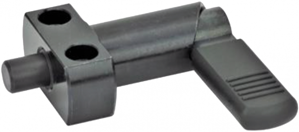 SM 1274-2 Cam action indexing plunger with flange for screwing on