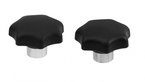 SM 1206-2 Star knobs, steel bushing