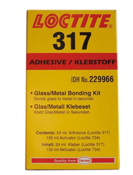 Glass/Metal Bonding Kit LOCTITE® 317/734 | SM 1299-1 317/734