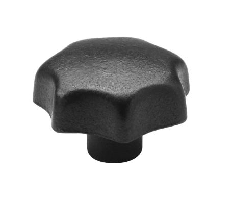 SM 1205 Star knobs, cast iron