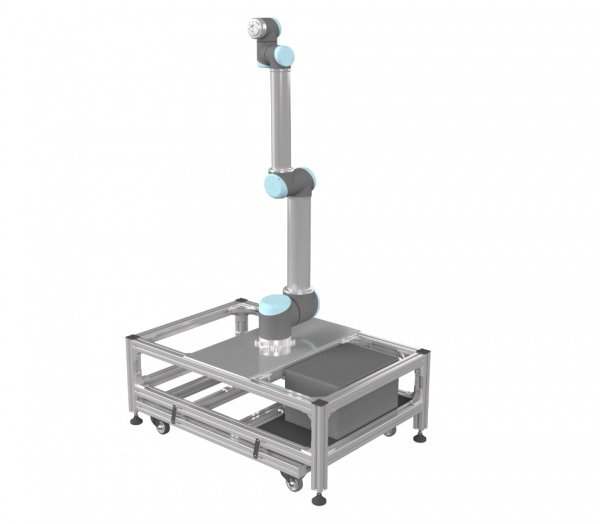 Mobiler Roboterfuß Größe M