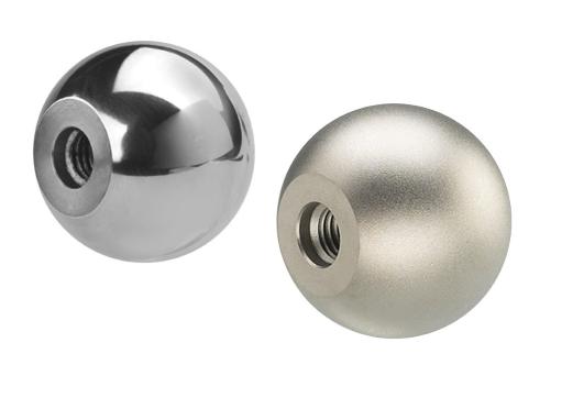 SM 1265 Ball knobs, metal